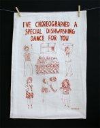 dishwashing dance